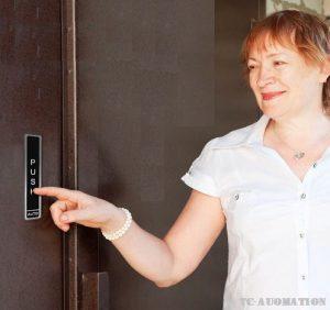 nút bấm mở cửa